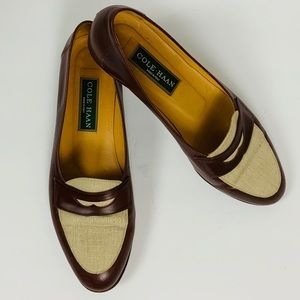 Cole Haan Women's Penny Loafers Size 81/2